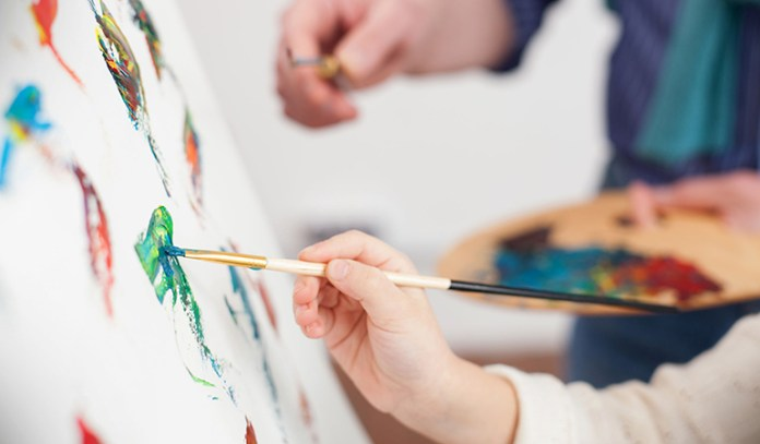 Finding a creative outlet to express yourself will not only help you de-stress but can also make you more confident.