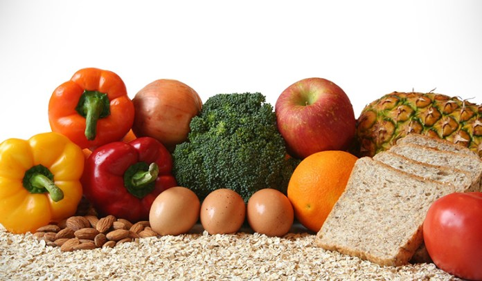 Foods like whole grains, fresh fruits, and omega-3 fats prevent inflammation