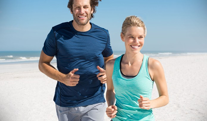 Get some exercise to keep your body in tip-top shape.