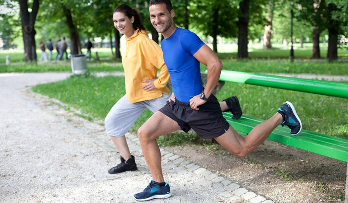 The hot seat exercise targets your butt and legs.
