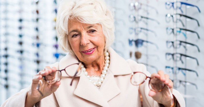 Make sure you take care of your eyes well especially after the age of 60