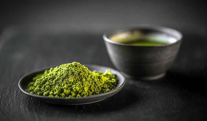 Choose organic matcha powder