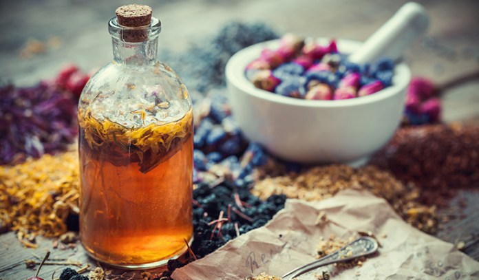 procedure to make a tincture with herbs