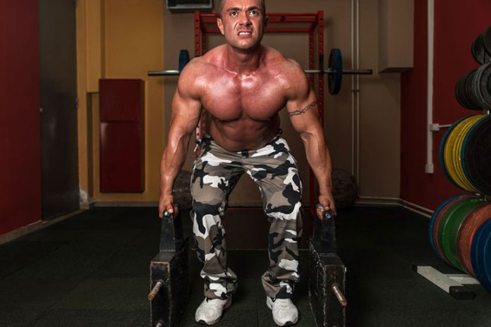 A variation to the deadlift