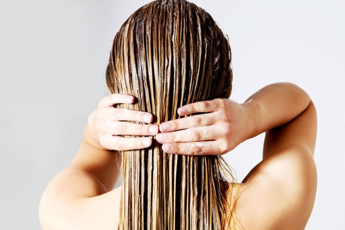 Use a mild conditioner after you shampoo your hair to restore the moisture