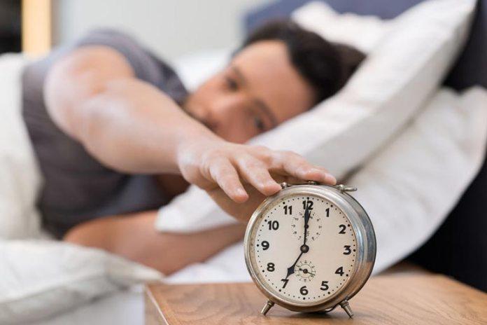 Create a regular sleep routine.