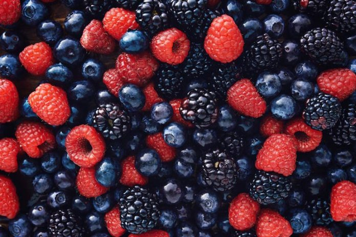 Berries Are Rich In Flavonoids That Can Fight The Flu