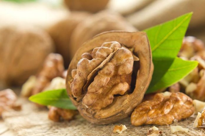 Walnuts are rich in essential fatty acids that help brighten up dull skin