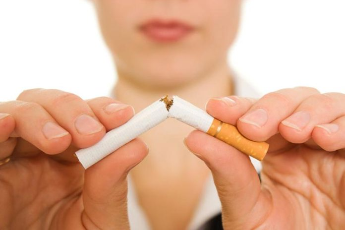 Smoking can reduce the risk of cancer coming back by a great extent