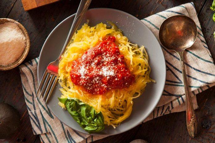 butternut squash as pasta substitutes