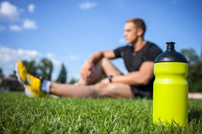A sugarless sports drink is better than water
