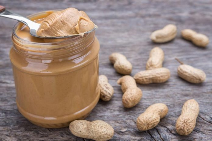 Just one tablespoon of peanut butter has 95 calories.