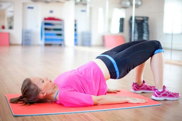 Exercises can help strengthen the pelvic floor muscles.