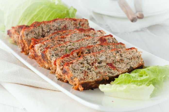 Turkey meatloaf has fewer calories than one made with beef, and adding veggies <!-- WP QUADS Content Ad Plugin v. 2.0.26 -- data-recalc-dims=