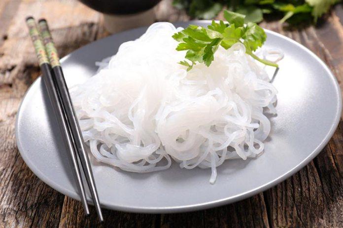 gluten-free, zero calorie shirataki noodles