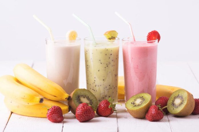 Fruit smoothies are a nutritious way to boost your metabolism