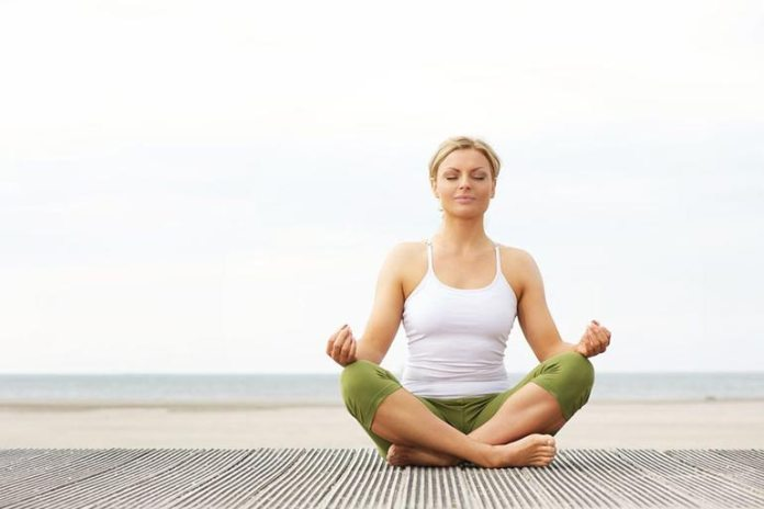 Meditation combats stress which can cause flare-ups.