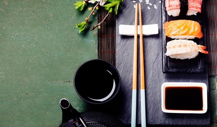 Japanese foods help with metabolism and a fluid immune function