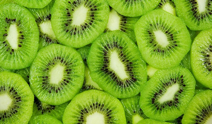 Kiwi has 6.2 grams per fruit.
