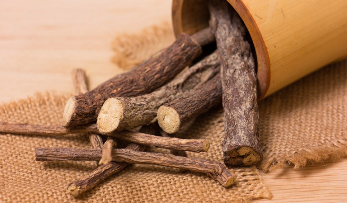 Licorice root is said to have anti-allergic properties.