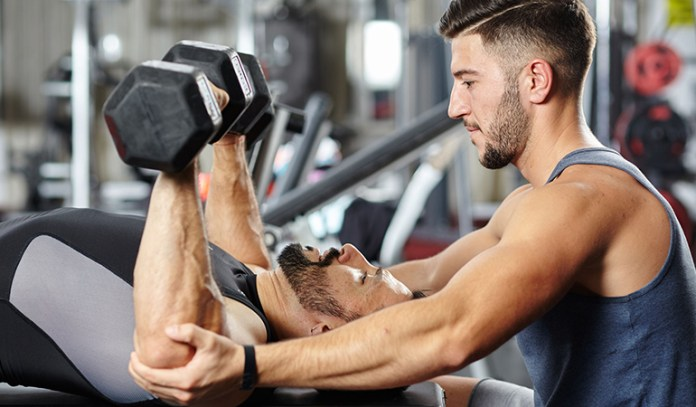 weight training with a partner