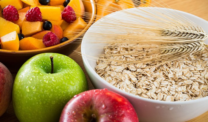 A high-fiber diet absorbs much of the toxins in your digestive system and hauls it out of your body upon excretion.