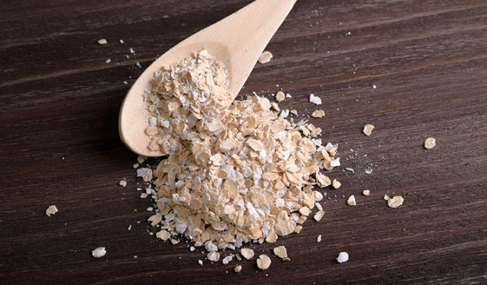 Oats relieve the symptoms of urticaria.