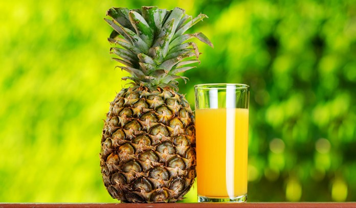One cup of pineapple chunks packs in 16.25 grams of sugar.