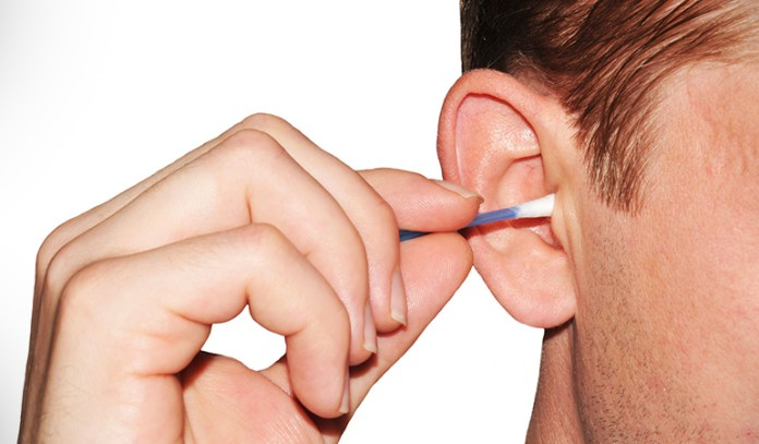 Removing ear wax with cotton swabs can cause issues to the ear canal