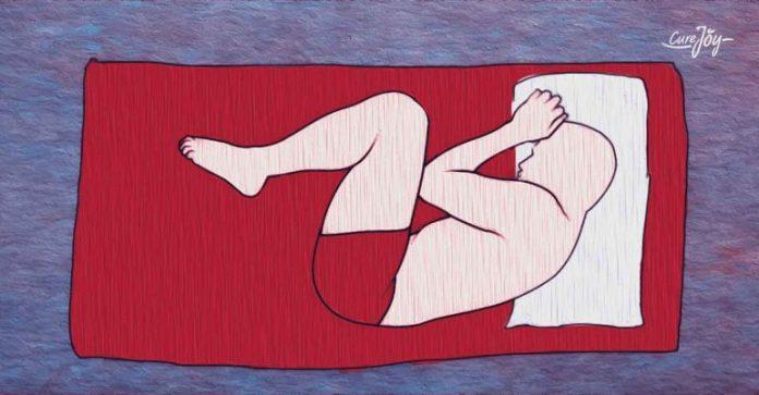 sleeping position to avoid back pain