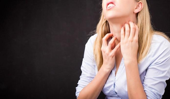 Sweat Lumps May Cause Itching