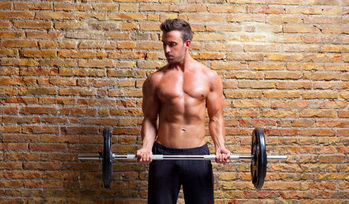 core activation while weight lifting