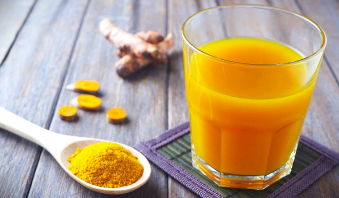 Turmeric tea helps people with vata dosha