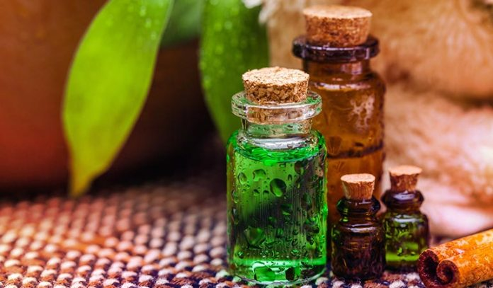 Tea tree oil is known for its strong antiseptic properties.