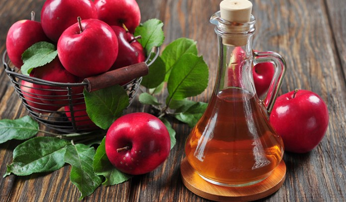 Apple cider vinegar is a healthier alternative to alcohol-based skin toners.
