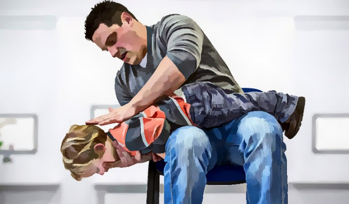 Back Blows May Help A Choking Child