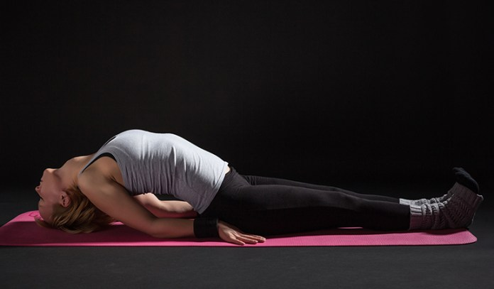 Fish Pose Can Relieve Stress And Maintain Hormonal Balance