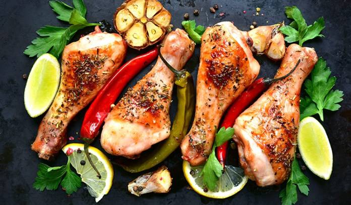Marinading your meats can boost the flavor quotient of your salad.
