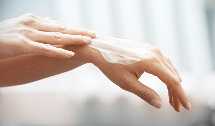 Coconut oil keeps your hands smooth and supple.