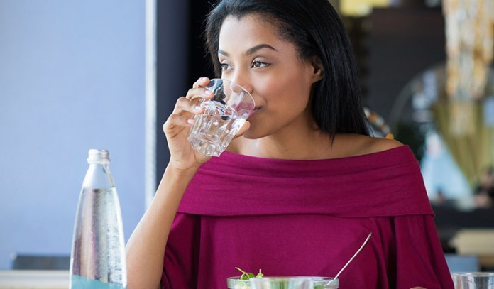 Drink lots of water to prevent dehydration