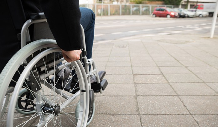 Just because a person uses a wheelchair, it doesn't necessarily mean he is a paraplegic.