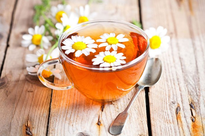 Chamomile has been shown to reduce anxiety and depression