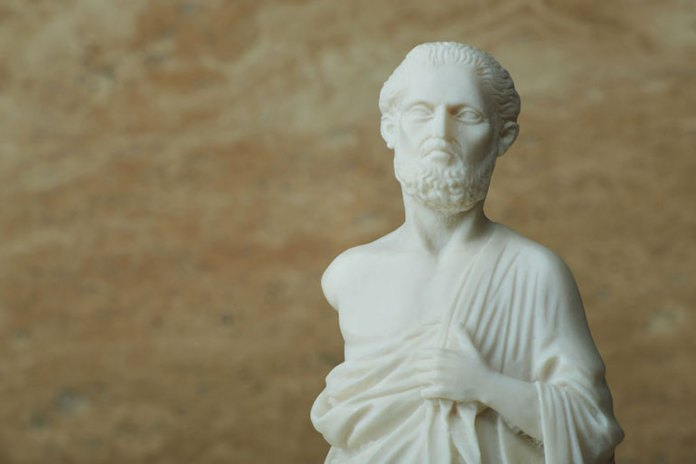 Hippocrates recommended pine tar as treatment.