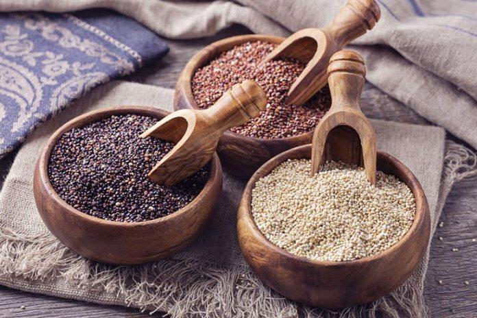 Grains Like Quinoa Is Rich In Fiber