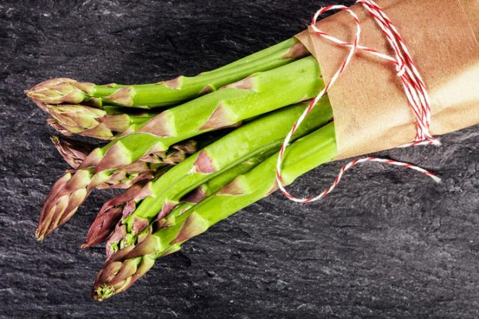proteins and vitamin K in asparagus