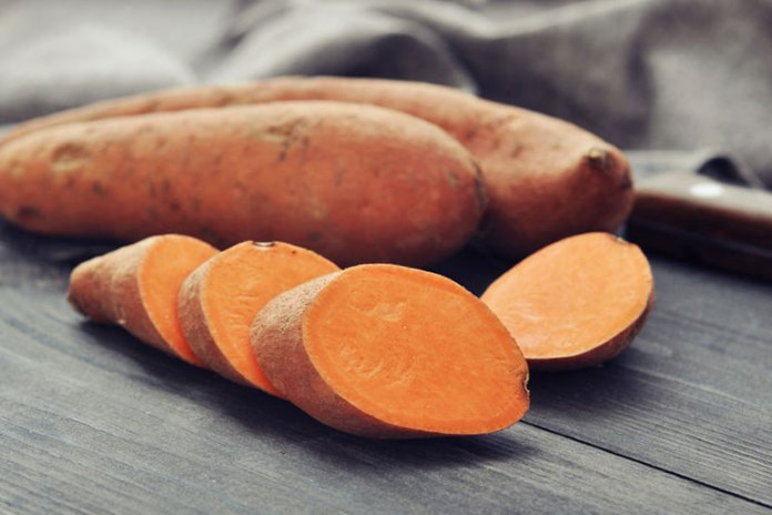 Sweet potatoes keep stools soft and allow them to pass easily through the digestive tract