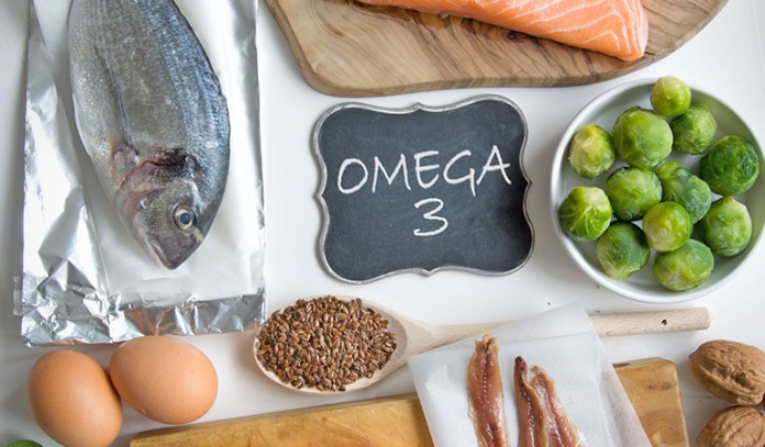 Omega-3 foods are great for the skin and may help treat chicken skin