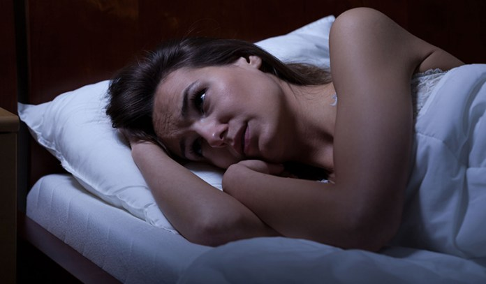 Changing hormone levels cause insomnia.