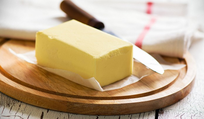 Place the butter in an over-safe container to melt it