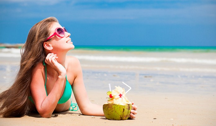 Drinking lots of fluids and resting in cool places can help regulate your body heat
